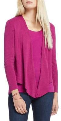 Nic+Zoe Petite 4-Way Knotted Cardigan
