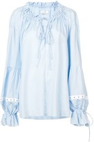 Marques Almeida Oversized Gathered Blouse