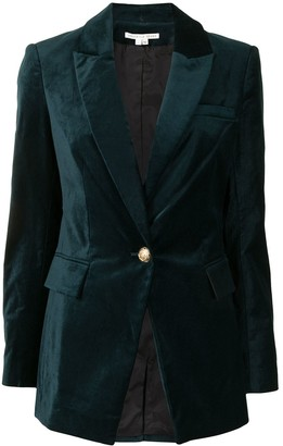 Veronica Beard Decorative-Button Detail Blazer