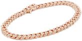 Shay 18k Rose Gold Mini Pave Link Bracelet
