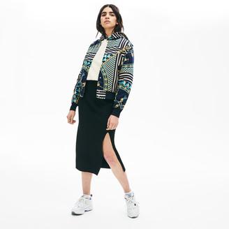 Lacoste Women's LIVE Slit-Front Knit Skirt