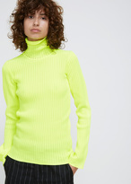 Hope Yellow Reed Turtleneck