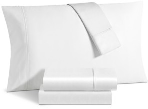 Fairfield Square Collection Aspen 1000 Thread Count Sateen 6-Pc. Solid Queen Extra Deep Sheet Set Bedding