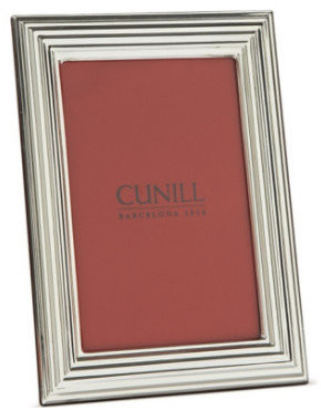 """Colosseum Cunill Sterling Silver Picture Frame, 5""""x7"""""""