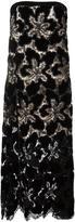 Giorgio Armani slip floral pattern gown