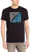 Nautica Men's List Graphic T-Shirt
