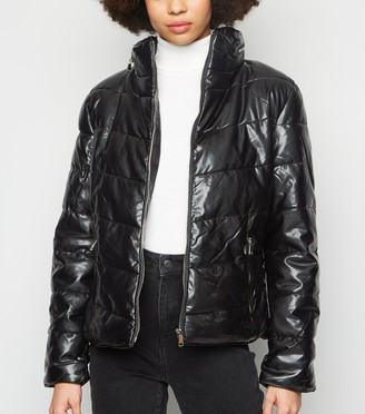 New Look Parisian High Neck Puffer Jacket