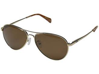 Toms Kilgore (Yellow Gold/Honey Tortoise Zeiss) Fashion Sunglasses