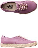 Vans Canvas Authentic Espadrille Shoe