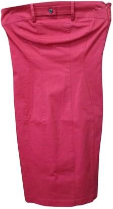 Daniele Alessandrini Red Cotton - elasthane Dress for Women