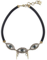 BCBGMAXAZRIA Gemstone Eye Necklace