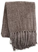 Pier 1 Imports Taupe Chenille Throw