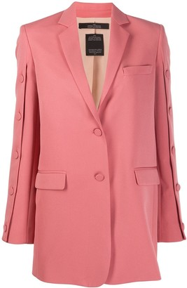 Rokh relaxed single-breasted blazer