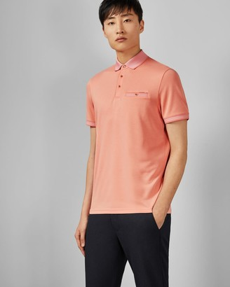 Ted Baker Flat Knit Polo Shirt