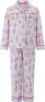 Monsoon Laila London Print Flannel PJ Set