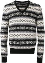 Alexander McQueen V-neck jumper - men - Cashmere - S