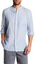 Joe Fresh Bradley Striped Long Sleeve Standard Fit Shirt