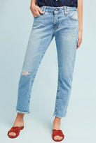AG Jeans The Nolan Mid-Rise Straight Cropped Jeans