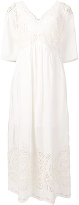 Stella McCartney Broderie Anglaise Maxi Dress