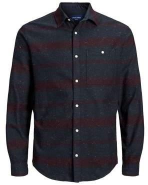 Jack and Jones Speckle Stripe Flannel Shirt