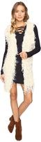 Brigitte Bailey Noemi Fringe Sweater Jacket