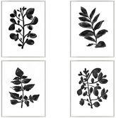 Pottery Barn Foliage Silhouette Framed Prints