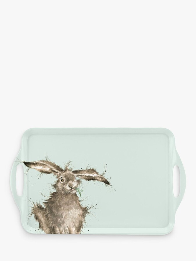 Wrendale Designs Hare Large Tray, 48cm