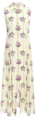 Emilia Wickstead Celia Floral-print Silk Crepe De Chine Midi Dress