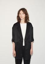 MM6 MAISON MARGIELA Shiny Panama Overcoat