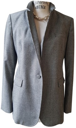 Band Of Outsiders Grey Wool Jacket for Women