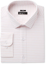 Bar III Men's Slim-Fit Stretch Coral Twill Gingham Dress Shirt, Only at Macy's