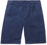 Mp Massimo Piombo - Cotton-twill Bermuda Shorts