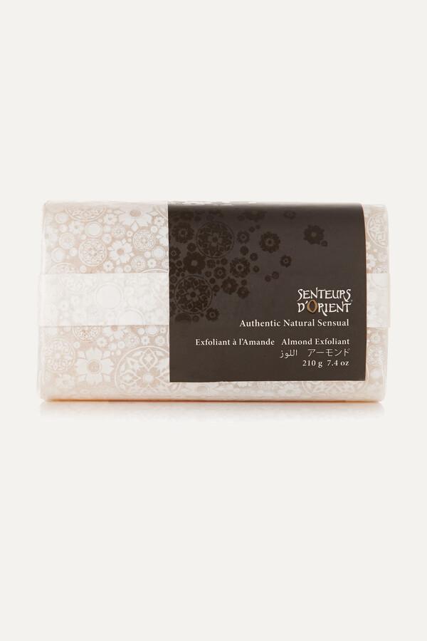 Thumbnail for your product : SENTEURS D'ORIENT + Net Sustain Rough Cut Bath Soap - Almond Exfoliant, 210g