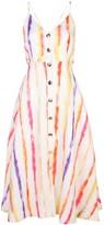 Nicholas striped print dress