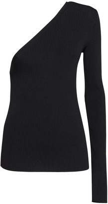 Sportmax Papaille Ribbed One Shoulder Sweater