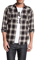 True Religion Slim Fit Plaid Western Shirt