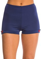 Girl Howdy Girlhowdy Helen Button High Waist Swim Shorts 8137847
