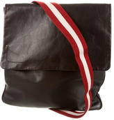 Bally Leather Messenger Bag