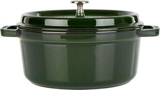Staub Green Round Casserole Dish (24Cm)