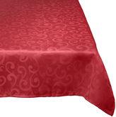 Avanti Damask Wrinkle-Resistant Tablecloth