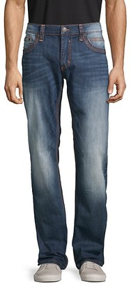 Affliction Embroidered Ace-Fit Jeans