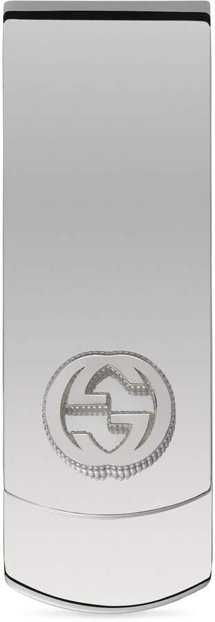 Gucci Money clip in silver with interlocking G