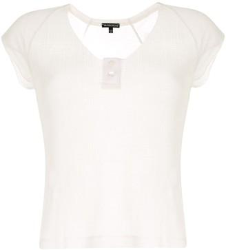 Ann Demeulemeester button-embellished T-shirt