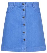 Stella McCartney supreme blue denim skirt