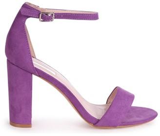 Linzi NELLY - Lilac Suede Single Sole Block Heel