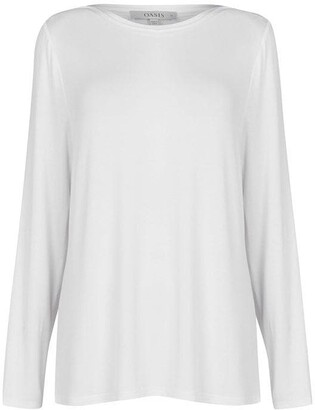 Oasis Curve Long Sleeve Top