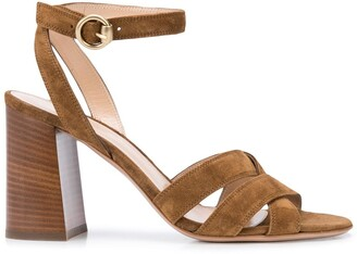 Gianvito Rossi Buckle Mid-Length Sandals