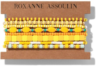 Roxanne Assoulin Color Therapy Yellow bracelet set