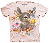 The Mountain Pink Baby Bunny Sublimated Tee - Toddler & Girls