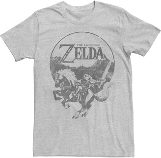Men's Legend Of Zelda Epona Ride Tee